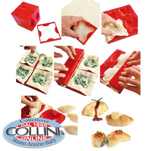 dumpling cube moule et shaper pour raviolis chinois sucr s et sal s ustensile de cuisine. Black Bedroom Furniture Sets. Home Design Ideas